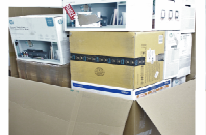 Kundenretouren Drucker Brother HP Canon Kyocera OKI