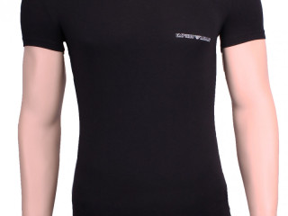 T-shirt homme EMPORIO ARMANI 26x - col rond, col rond, coton stretch