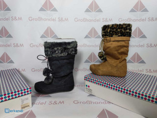 Chaussures d'hiver dames stock restant