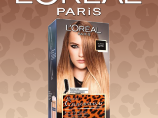 L'OREAL COLORATION MUCHAS CALIFORNIANAS BLOND A BLOND FONCE