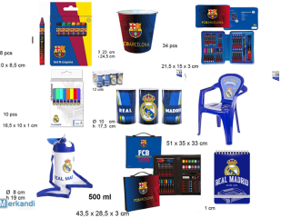 Articles de licence Barcelone / Madrid