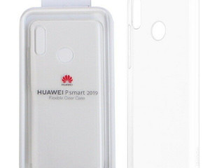 GENUINE HUAWEI P SMART 2019 FLIEXIBLE COVER CASE - Clear