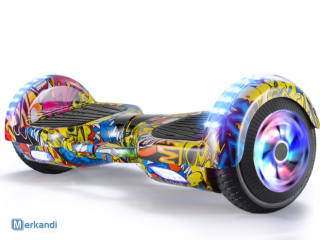 scooter hoverboard 6,5 pouces avec roue led